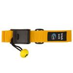 MTI Lifejacket Leash Belt, Yellow/Black