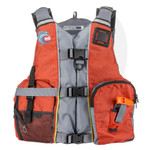 MTI Lifejacket Calcutta Orange/Gray MTI-411E-0EA00 Front View