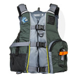 MTI Lifejacket Calcutta Midnight Green/Gray MTI-411E-0GA00 Front View