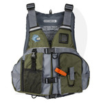 MTI Lifejacket Solaris F Spec Khaki Ripstop/Gray MTI-807K-0GA Front View