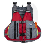 MTI Lifejacket Solaris Red/Gray MTI-807L-0RA Front View