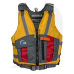 MTI Lifejacket Youth Reflex Mango/Red (50-90 lb) WEB703C Front