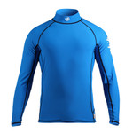 Zhik KidsLong Sleeve Kids Top Cyan