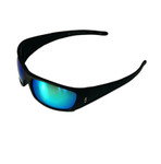 Gill Spectrum Matte Sunglasses Black/Blue Mirror