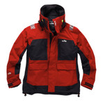 Gill Tournament Jacket with Vortex hood Red/Graphite