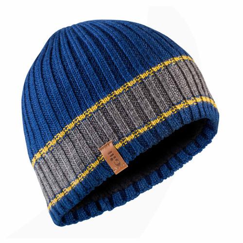 Gill Band Stripe Beanie Blue