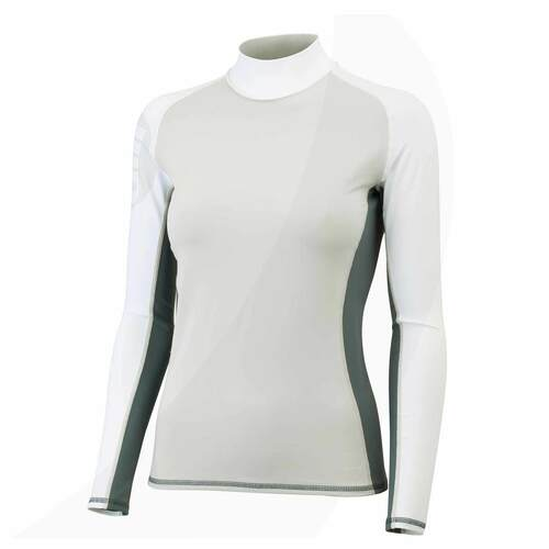 Gill Women's Pro Rash Guard Long Sleeve Silver/Ash