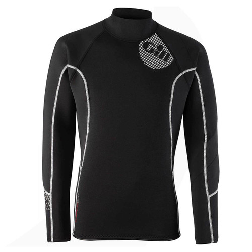 Gill Men's Thermoskin Top Black/ Red