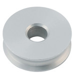 Allen Brothers 38MM X 12MM Plain Bearing Alloy Sheave Aluminium