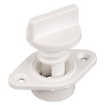 Allen Brothers 24MM Drain Socket+Bung - White