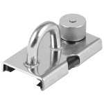 Allen Brothers Stainless Steel Sliding Fairlead With Piston Stop