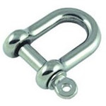 Allen Brothers 5mm Stainless Steel Forged D Shackle
