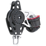 Harken 57mm Carbo Block w/Cam Cleat and Becket