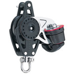 Harken 40mm Carbo Block w/Cam Cleat and Becket