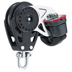 Harken 75mm Carbo Block w/Cam Cleat