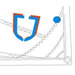 J Sail Optimist Blue for Skippers between 35 kgs / 77 lbs and 43 kgs / 95 lbs. (JSAILBL)