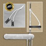 "JCD Lightning Delrin Shroud Keys (3/16"" slot) - Pair"
