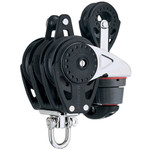 Harken 75mm Triple Carbo Ratchamatic w/Cam, Becket & 57mm Block