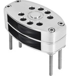 Antal 150mm Stainless Steel Classic Double Foot Block