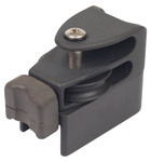 Antal 31x21 Track End Fitting, 45mm Single Sheave, Becket