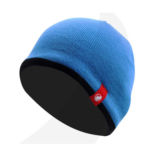 Rooster Fleece Lined Beanie Signal Blue (106067-SLBE)