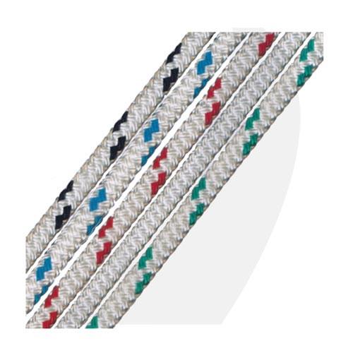 "G&B Ropes  SLS Yacht Braid Double Braid Polyester 1/4"""