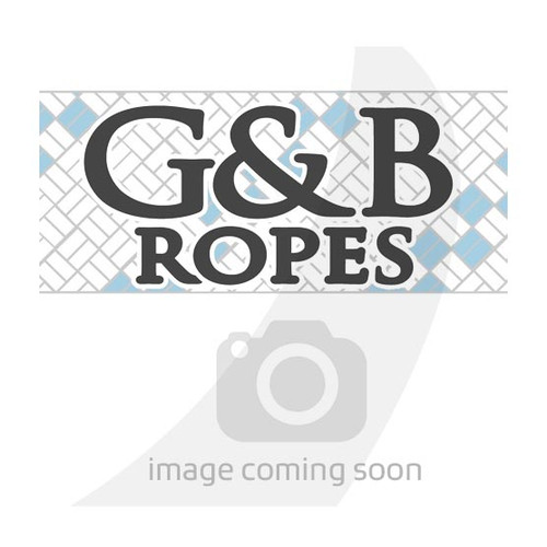 G&B Ropes White Rainbow Braid 3/16""
