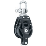 Harken 80mm Element Double Swivel Block w/Becket