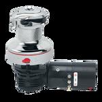 Harken Radial Rewind Electric Size 60 All Chrome Winch Horizontal 24 Volt DF Control Box