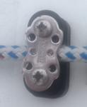 VX One (Harken) Jib Sheet Dual Sheave Fairlead (H-36654A, 2 x 415, H-36655A)