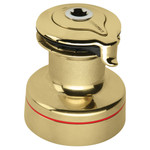 Harken Radial 2 Speed Size 35 Self Tailing Polished Bronze Winch