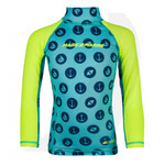 Magic Marine Kids Cube Rashvest Long Sleeve