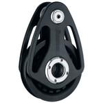 Harken 125mm Alum Teardrop Block - Loop Not Included