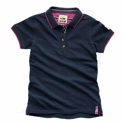 Gill Women Polo Navy E016