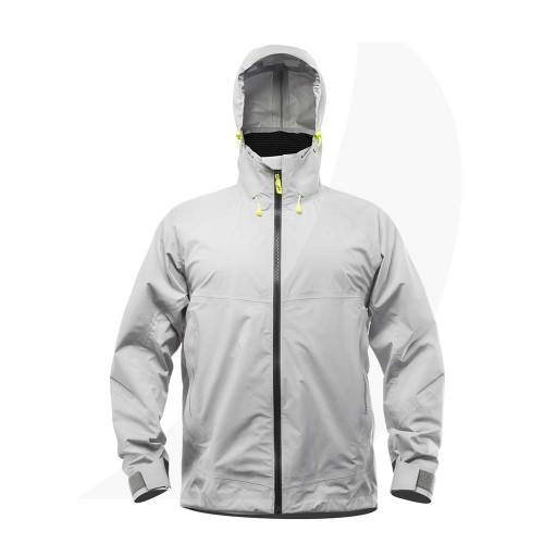 Zhik Mens Aroshell Jacket Grey Front View JKT-0320-M-ASH
