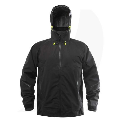 Zhik Mens Aroshell Jacket Black Front View JKT-0320-M-BLK