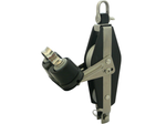 Viadana Block 57mm Double Cruise with Swivel Catch and Cleat