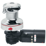 Harken Radial Rewind Size 40 Electric Chrome Winch White RAL9003