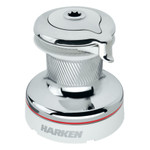 Harken Radial 2 Speed Chrome Size 50 Self-Tailing Winch White