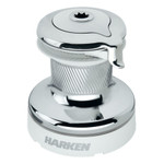 Harken Radial 2 Speed Chrome Size 70 Self-Tailing Winch White