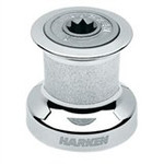 Harken Single Speed Winch Size 6 w/chromed bronze base & drum, alum top