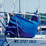 Harken Harken Canvas Headsail Bag Medium - (Pacific Blue)