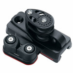 Harken MR 27mm Double Sheave End Control w/Dead End and Cam (Pair)