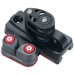 Harken BB 32mm Double Sheave End Controls w/Dead End and Cam (Pair)