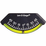 Lev-o-gage Marine Inclinometer 45 Degrees