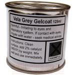 Laser Performance Sunfish & FJ Vela Grey Gel coat, 1/2 Pint