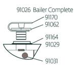 Laser Performance Sunfish Bailer, 13/16 In, Comp