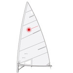 Laser Performance Laser Sail by Hyde Sails (Folded)