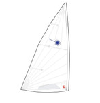 Laser Full Rig MKII Racing Sail