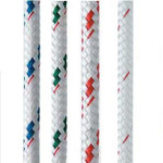 New England Ropes Sta-Set (White and Flecks) 1/2""